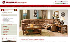 Furniture Shopping Centerhttp://furniture.tritigerdemo.com/